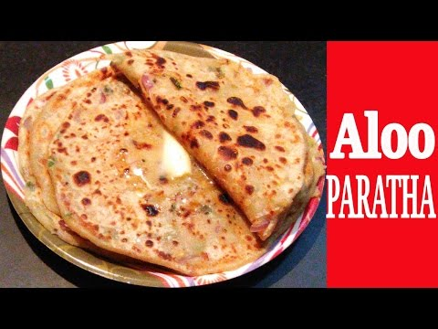 ALOO PARATHA RECIPE - Potato Stuffed Paratha | How to make tasty aloo paratha at home (Step by Step)