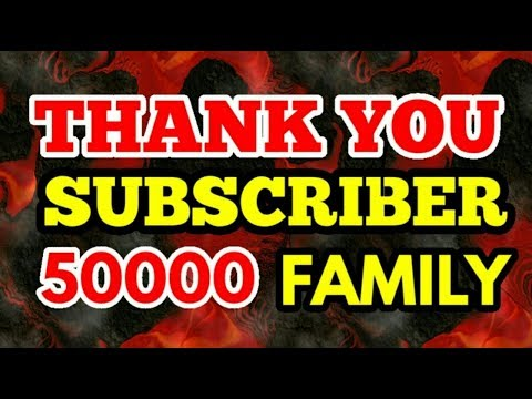 FF NEWS Crosses 50K Subscribers, Thank You All Family Members | #Respect #Gratitude
