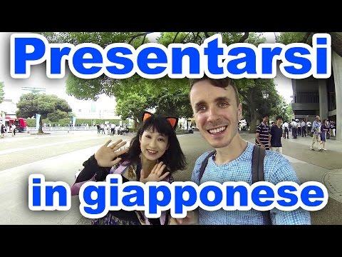 Come PRESENTARSI in Giapponese