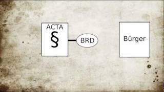 Was ist ACTA wirklich? 1/4: Einleitung, internationale Abkommen, Zielsetzung