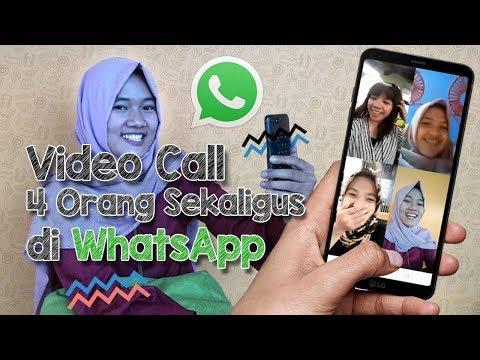Review dan Tutorial Video Call Rame-rame via WhatsApp