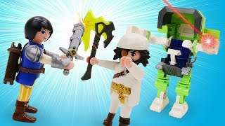 Детское видео про игрушки Супер четверка! Новый робот похищен из лаборатории!