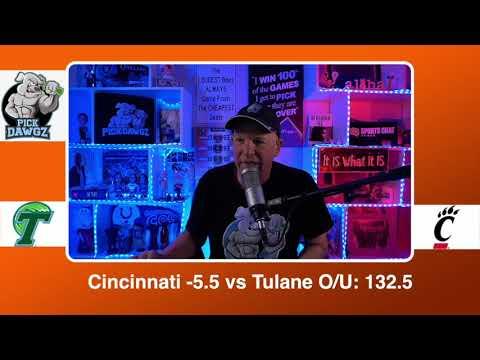 Cincinnati vs Tulane 2/26/21 Free College Basketball Pick and Prediction CBB Betting Tips