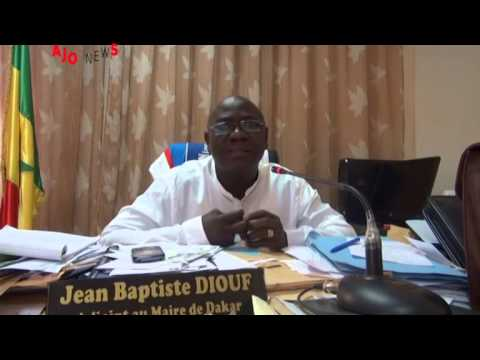 Maire Grand Dakar   Jean Baptiste Diouf