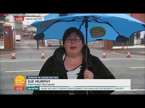 Sue Murphy on Benefit Concert for Manchester Bombing Victims | Good Morning Britain