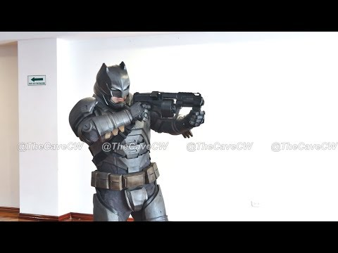 The Armored Batman Cosplay by The CAVE Creature Workshop