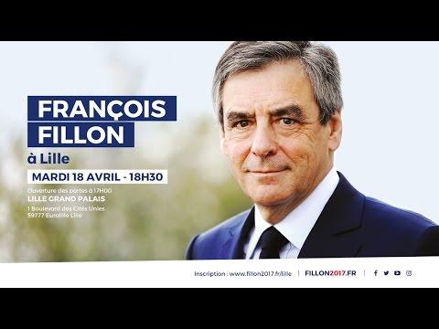 Réunion publique de François Fillon à Lille