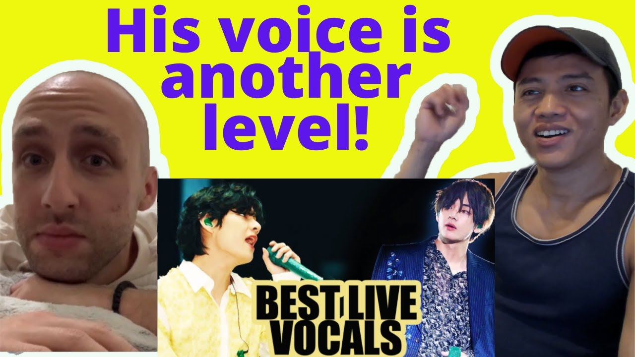 BTS V Kim Taehyung Best Live Vocals Reaction