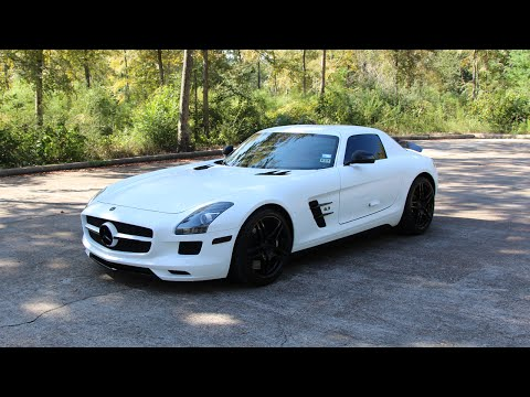 2011 Mercedes-Benz SLS AMG - Review in Detail, Start up, Exhaust Sound, and Test Drive