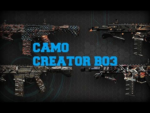 Call Of Duty Black Ops 3 New Create A Camo Paintshop Feature Gunsmith