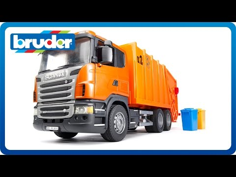 Bruder Toys SCANIA R-series Garbage Truck #03560