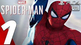 SPIDER-MAN PS4 - Gameplay Walkthrough Part 1 - Prologue (Full Game) PS4 PRO