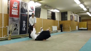ninin dori iriminage [TUTORIAL] Aikido empty hand technique