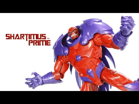 Marvel Legends Red Onslaught Build A Figure BAF Captain America 2016 Wave Toy Action Figure Review