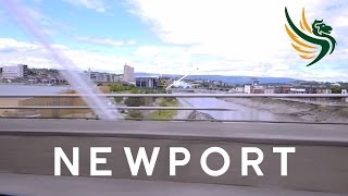 Newport City in South Wales