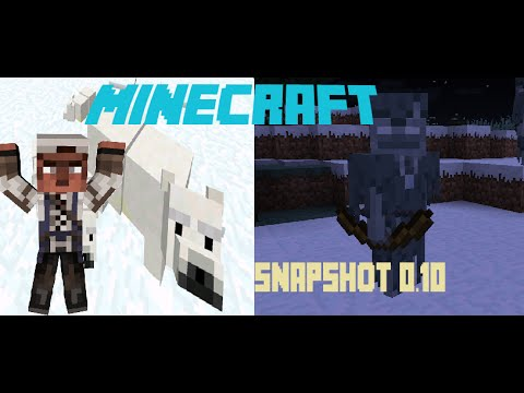 Minecraft ReView 1.10 Snapshot: Gấu bắc cực, Zombie, Skeleton nâng cấp..Block mới!!!