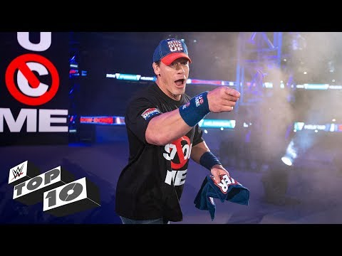 John Cenas most exciting returns: WWE Top 10, Jan. 5, 2019