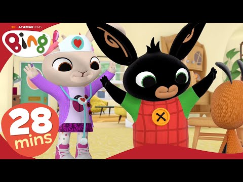 Plasters & Other Stories | Bing Full Episodes Compilation | Cartoons For Kids | Bing Bunny