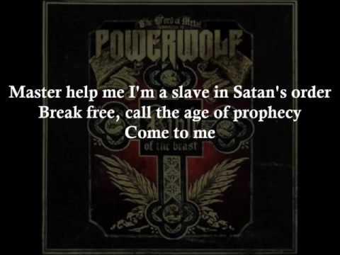 Seven Deadly Saints - POWERWOLF - HD -  Lyrics
