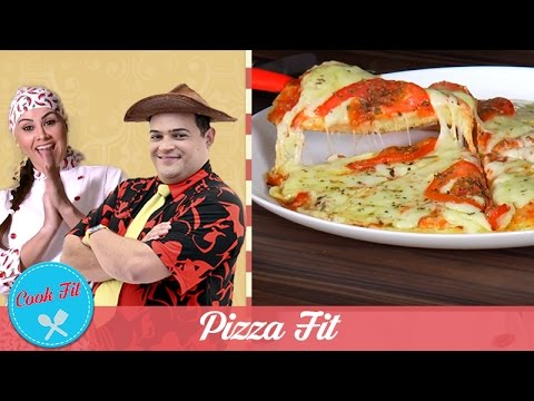 PIZZA FIT | COOK FIT | Matheus Ceará E Dani Iafelix