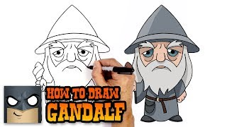 How to Draw Gandalf | Lord of the Rings (Art Tutorial)