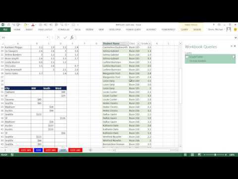 Excel Magic Trick 1223: Power Query UnPivot Feature to Create Proper Data Set For Sales & Grade Data