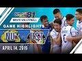 UAAP 81 MV: NU vs. UST   Game Highlights   April 14, 2019