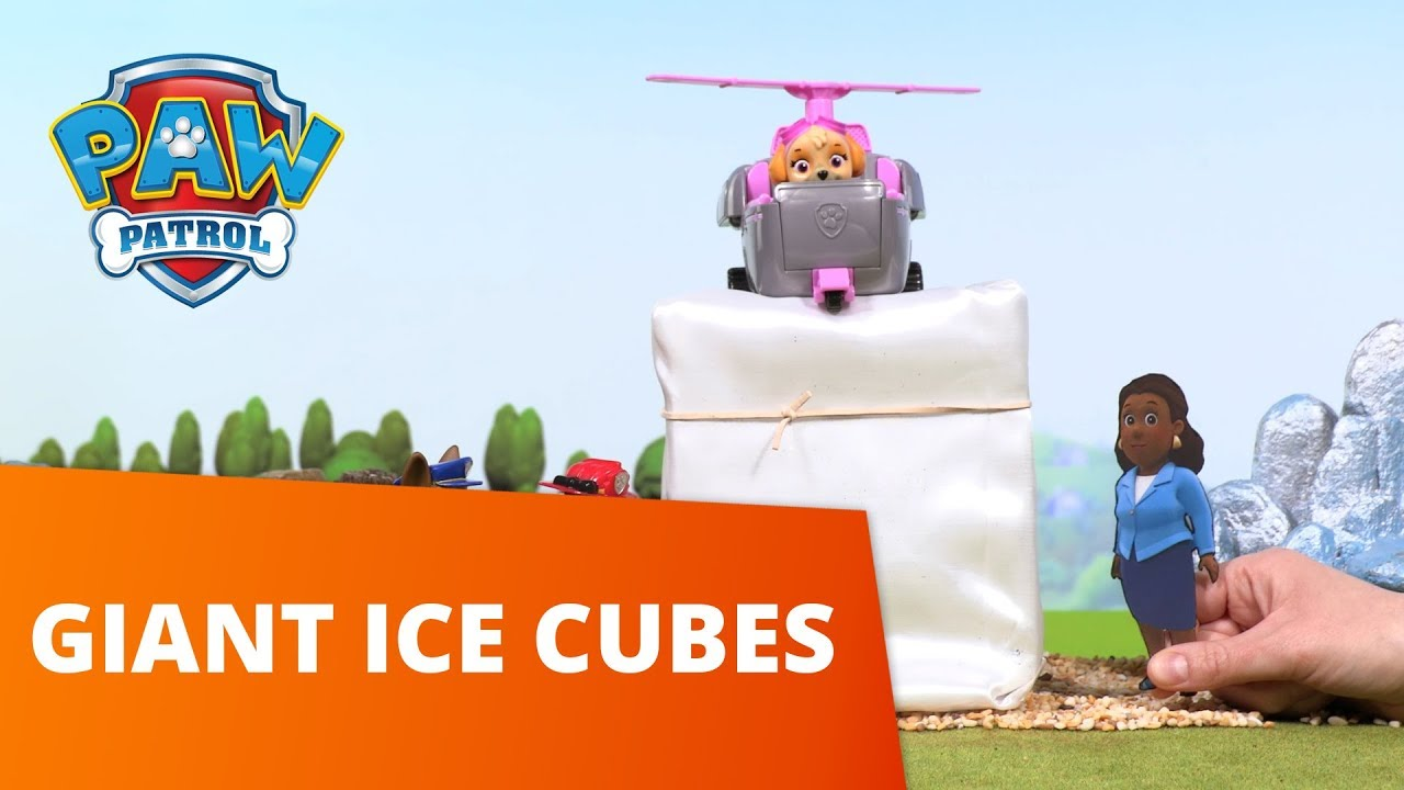 PAW Patrol | Giant Ice Cubes | Toy Episode