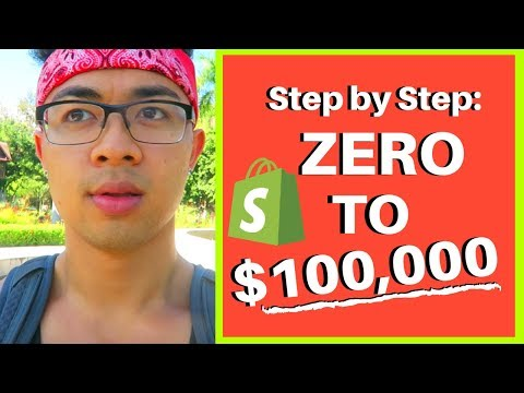 Shopify Tutorial for Beginners | Create a 6 Figure Shopify Store 2018