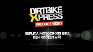 Replica Motocross Bike Model - KTM Ken Roczen 250 SX-F - 360° Video