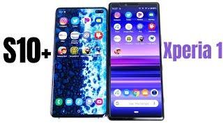 Samsung Galaxy s10 plus vs Xperia 1 Speed Test!