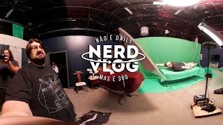 Voando, gritando e perdendo a cabeça no YouTube Space | NerdVlog 360 [4K] Ep. 25