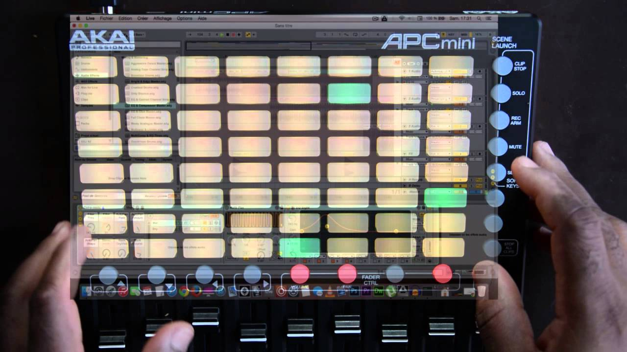 akai apc mini  Akai APC mini Demo - YouTube