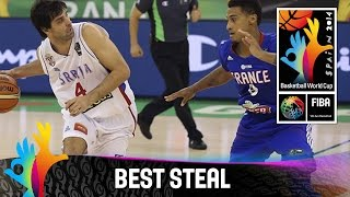 Serbia v France - Best Steal - 2014 FIBA Basketball World Cup
