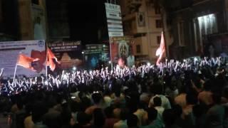 Doble galli vijayapur 2016 ganpati  visarajan in road show