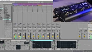 Soleman MIDI Foot Controller Tutorial #7: With Ableton Live