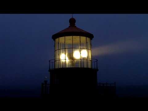Point Sur Light at Night