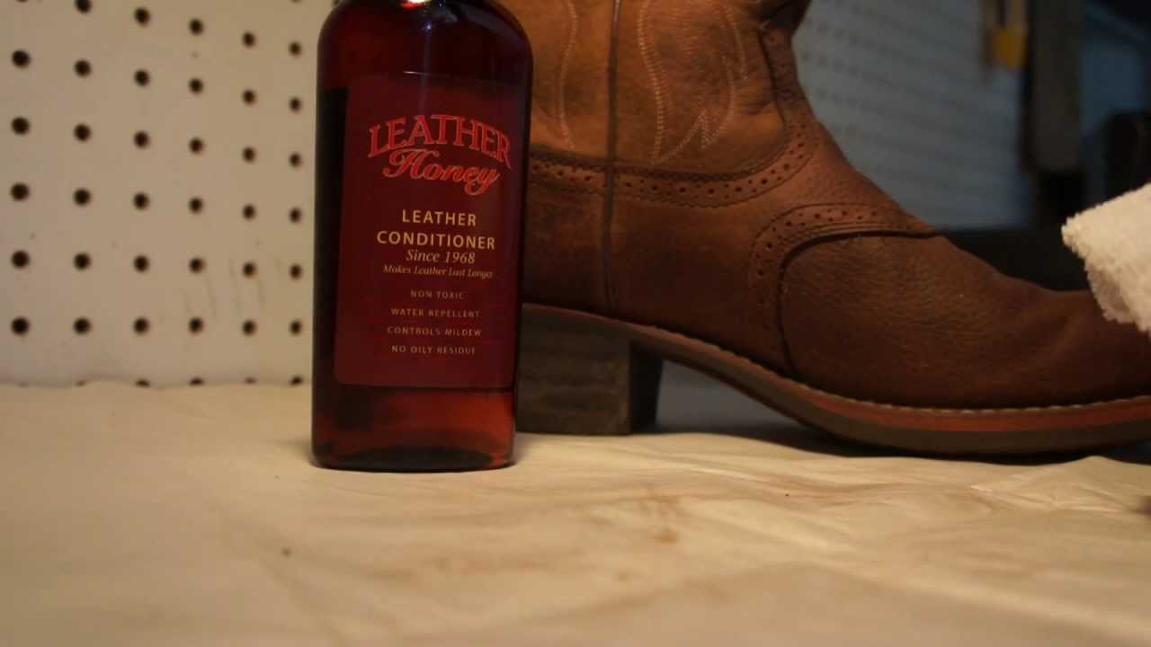leather conditioner for boots how to use leather honey