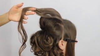 Асимметричная прическа.Обучение для парикмахеров от Узун Виталия, Одесса.