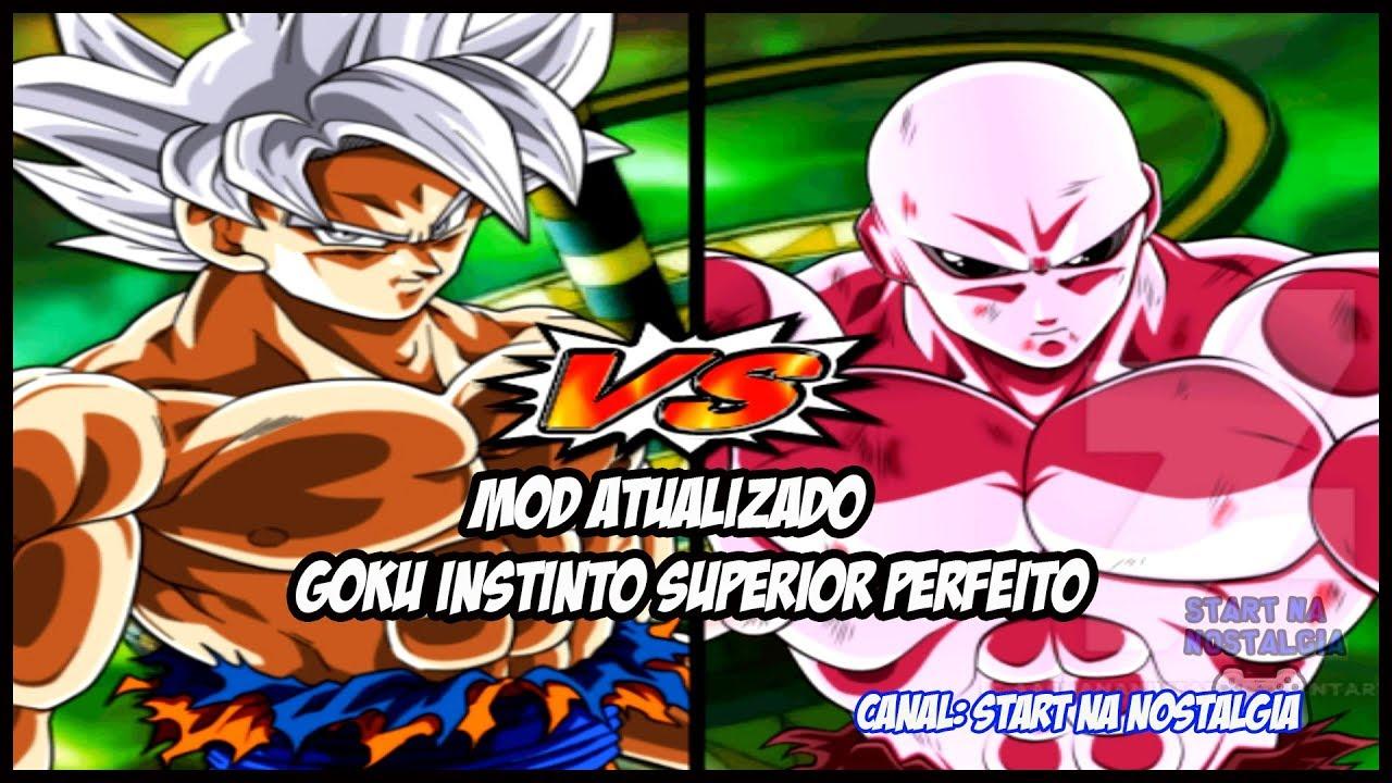 Dragon Ball Z Budokai Tenkaichi 3 ps2  - MOD ATUALIZADO COM GOKU INSTINTO SUPERIOR PERFEITO VS JIREN #1