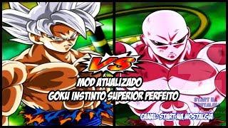 Dragon Ball Z Budokai Tenkaichi 3 ps2  - MOD ATUALIZADO COM GOKU INSTINTO SUPERIOR PERFEITO VS JIREN