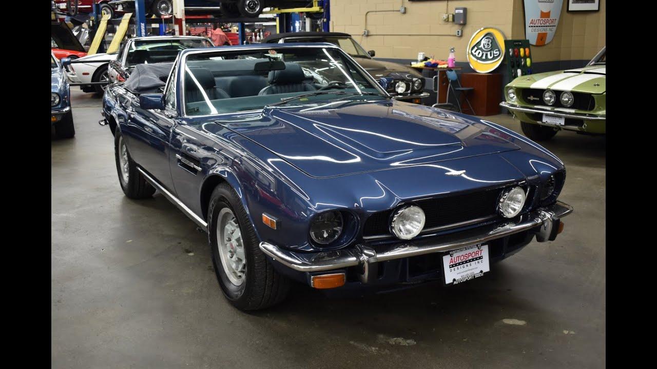 1979 Aston Martin V8 Volante Road Test Autosport Designs Youtube