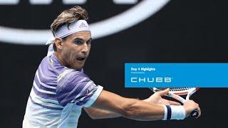 Dominic Thiem Survives 5 Set Thriller | Australian Open 2020 Day 4