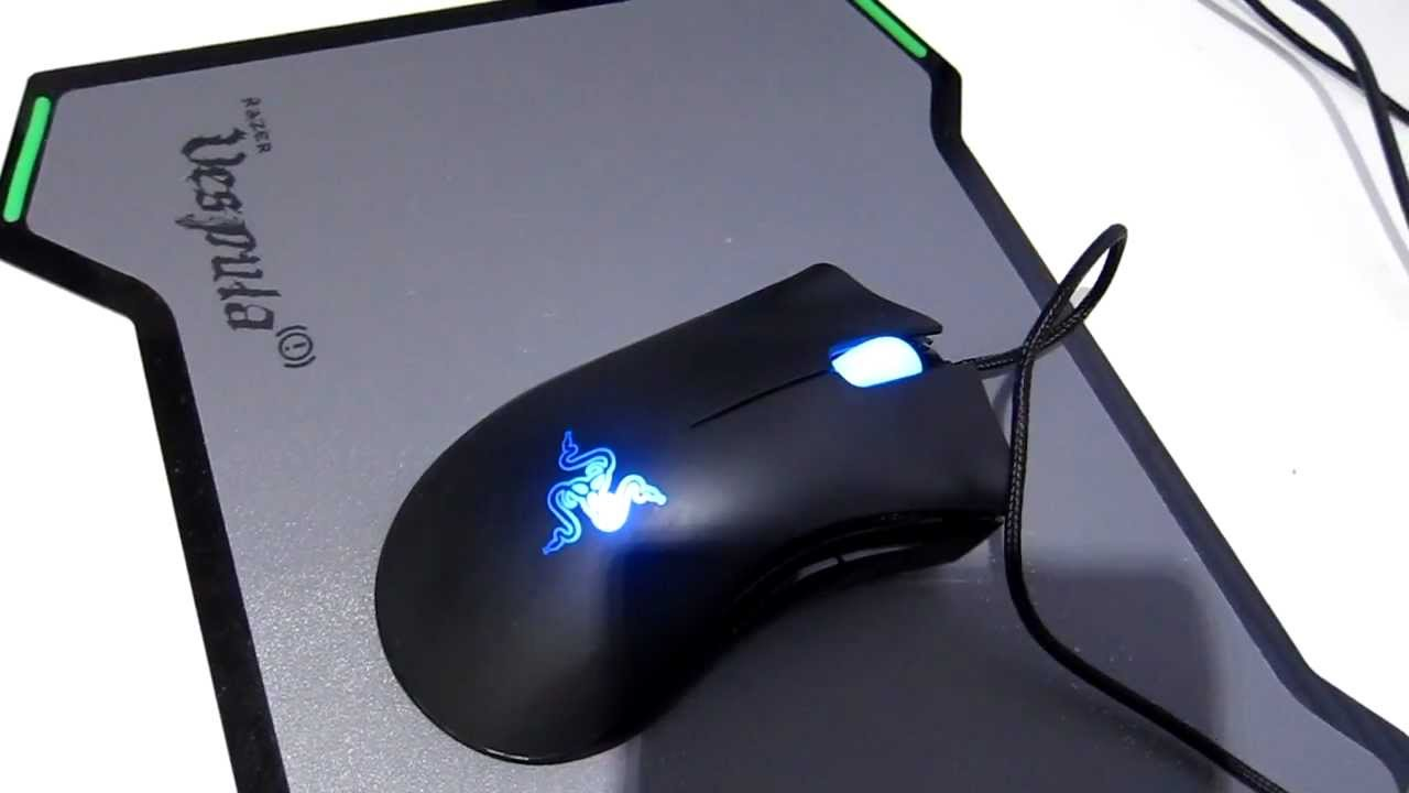 00ec3ad347d Razer Deathadder Mouse Review (Left-Handed Edition) - YouTube