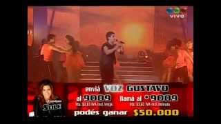 Gustavo Corvalan Final de La Voz Argentina