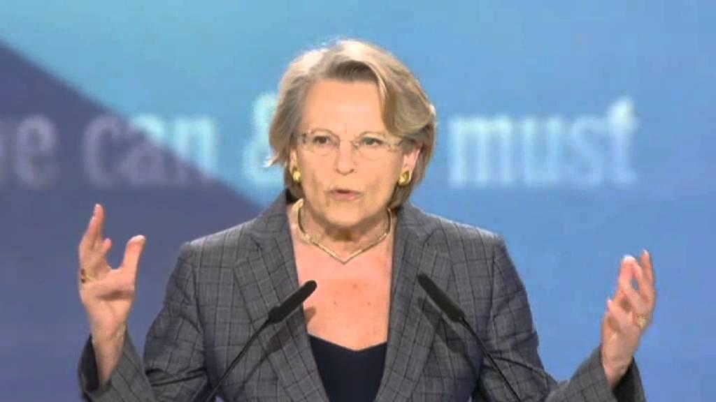 Michèle Alliot-Marie eurodéputée et ancien ministre