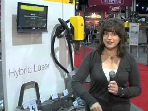 FABTECH 2010 - ESAB Hybrid Laser Welding