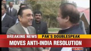 Pakistan moves second anti-India resolution