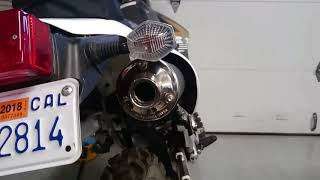 DRZ400s Exhaust Mod - Free and Easy