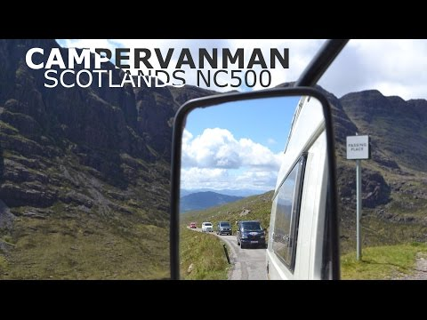 VW Route 67 - Campervans tour Scotland's NC500 for charity